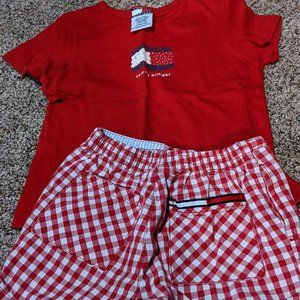 Tommy Hilfiger 2pc Shorts Outfit - Size 5